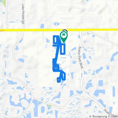 14282 Acorn Ridge Dr, Orlando to 14249 Acorn Ridge Dr, Orlando