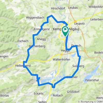 Allgäu - Große Kemptenrunde