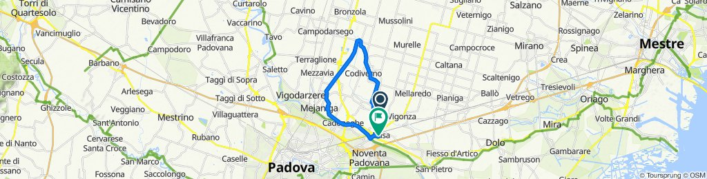Easy ride in Vigonza