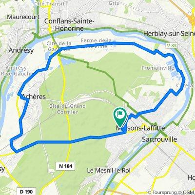 Le Mesnil-le-Roi Cycling