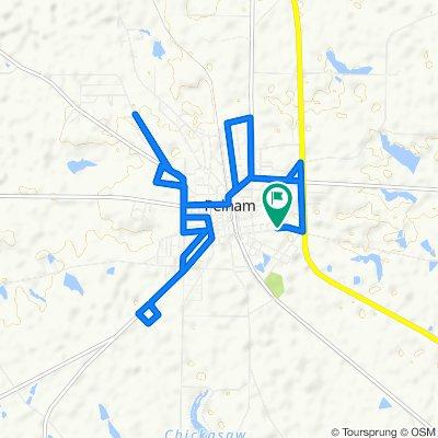 334 Everett St SE, Pelham to 334 Everett St SE, Pelham