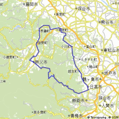 Chichibu Basin and a historic way