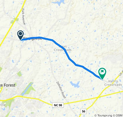 Holden Road 281, Youngsville to Tarboro Road 2489, Youngsville