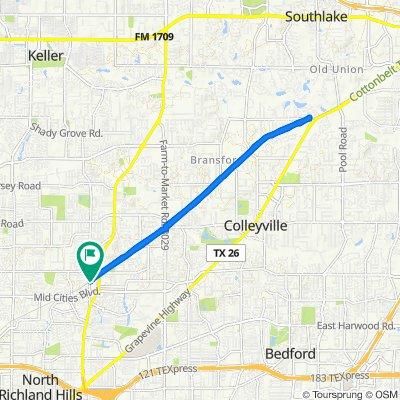 6420 Smithfield Rd, North Richland Hills to 6420 Smithfield Rd, North Richland Hills
