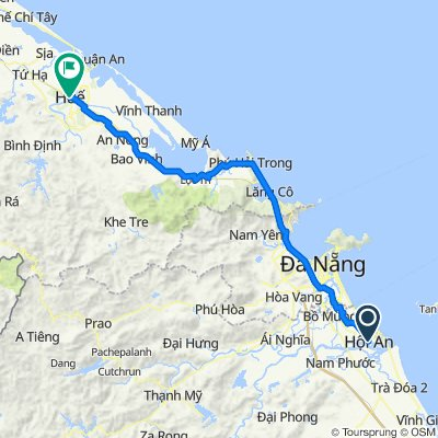 Hoi An to Hue by bicycle with Phong Nha Locals