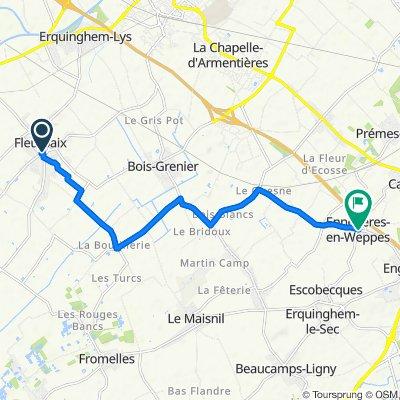 De 2–26 Rue de l'Égalité, Fleurbaix à 32bis Rue du Bourg, Ennetières-en-Weppes