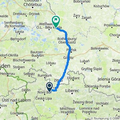Wien-Hamburg 07/10: Cvikov (CZE) - Sagar (DEU)
