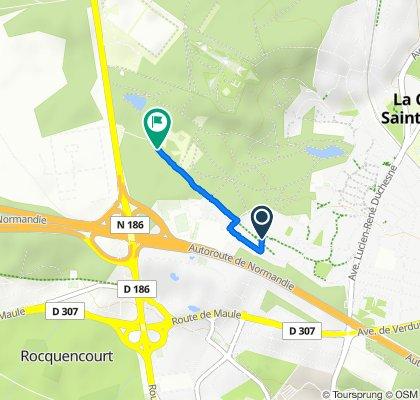 De Allée de Guenifey, La Celle-Saint-Cloud à Allée de la Grande Promenade, La Celle-Saint-Cloud