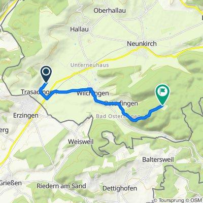Vortag, Trasadingen nach Rossberghof, Osterfingen
