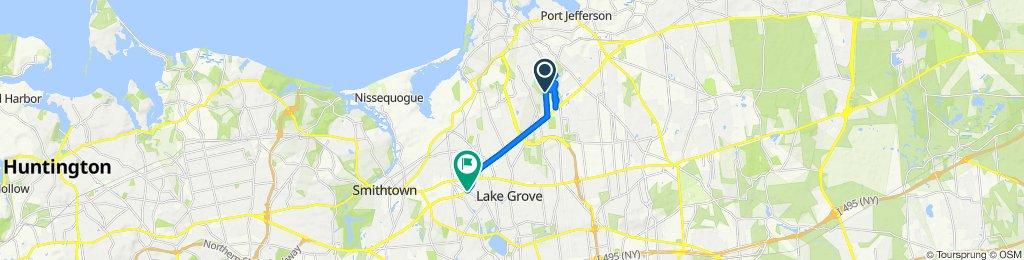 130–146 N Belle Mead Rd, East Setauket to 924–936 Smithtown Byp, Nesconset