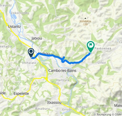 457 Karrika Nagusia, Larressore to D420, Cambo-les-Bains