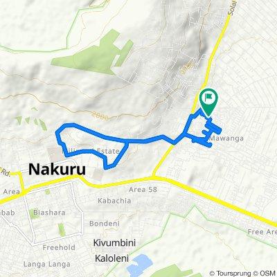 Unnamed Road, Mawanga to Unnamed Road, Mawanga
