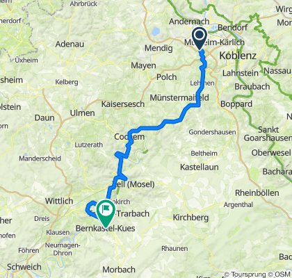 L123, Bassenheim nach Gestade 6, Bernkastel-Kues