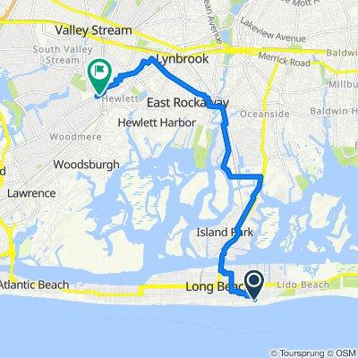 2–98 Roosevelt Blvd, Long Beach to 1315 Peninsula Blvd, Hewlett