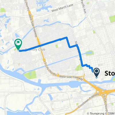 843 W Fremont St, Stockton to 3416 W Euclid Ave, Stockton