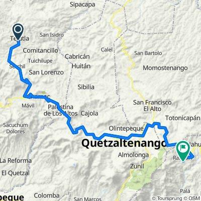 Vuelta a Guatemala inventada Tejutla- San Marcos- Xela- Alaska - Santa Catalina Ixtahuacan