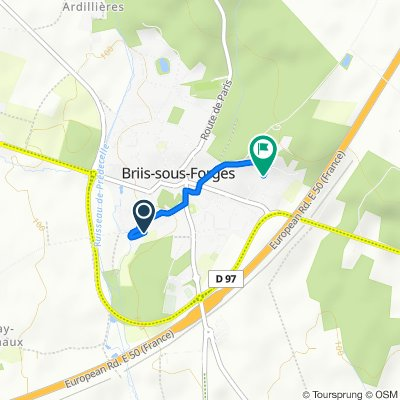 De 4 Impasse des Potagers, Briis-sous-Forges à 270bis Chemin des Vignes, Briis-sous-Forges