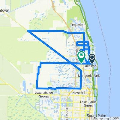 110 miles journey