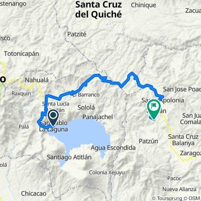 Vuelta a Guatemala inventada San Pablo La Laguna Iximche Tecpan