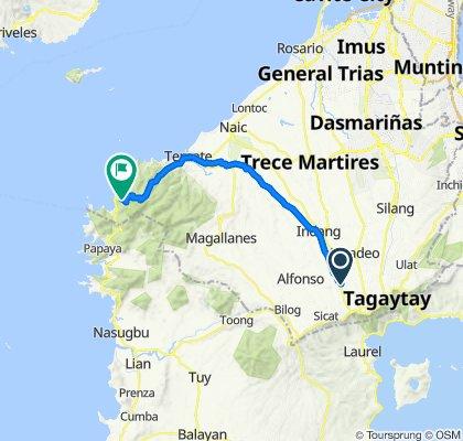 Mendez to Kaybiang Tunnel, Maragondon