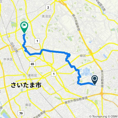 Higashi Urawa River Cycle 東浦和近くの川