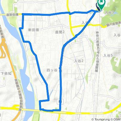 3418, Iriya 3-Chōme, Zama-Shi to 12, Iriyahigashi 1-Chōme, Zama-Shi