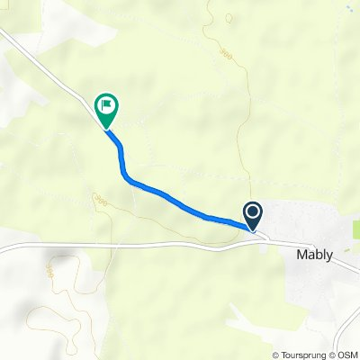 De 153 Route de Noailly, Mably à Route de Noailly, Mably