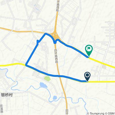 Guanghua Avenue Capital Fengshang Northwest 300 Meters, Chengdu to Riyue Avenue 2nd Section No.666 No.Attached1, Chengdu