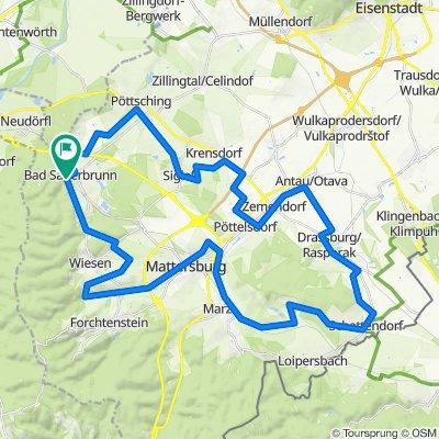 B32 Rosalia-Radwanderweg