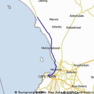 West Coast - 120km - flat