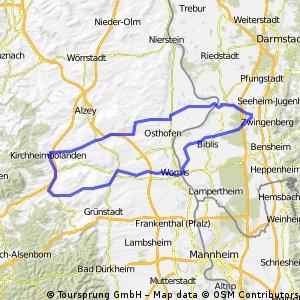 Rheinhessenrundfahrt 1
