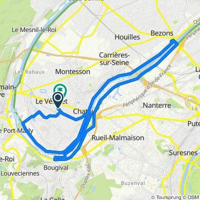 De 15 Avenue du Général de Gaulle, Le Vésinet à 40 Boulevard Carnot, Le Vésinet