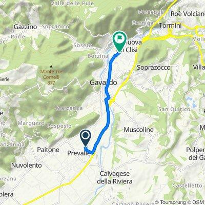 Steady ride in Villanuova sul Clisi