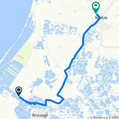 Itinéraire vers Rue de La Rochelle, Moëze