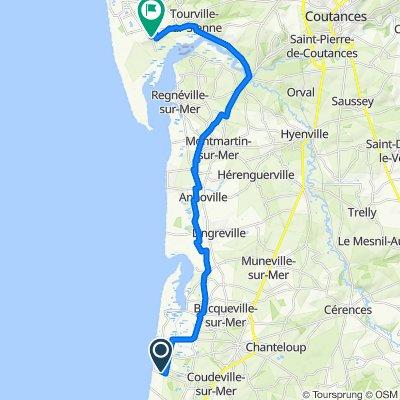 Itinéraire confortable en Agon-Coutainville