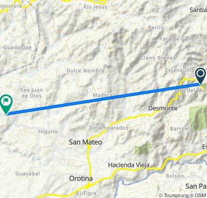 De Vía 3, Atenas a Vía 131, San Mateo