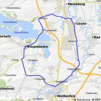 Geusa-Braunsbedra-Weißenfels-Leuna-Geusa