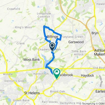 Carr Mill Road 81, Billinge to Blackbrook Road 275