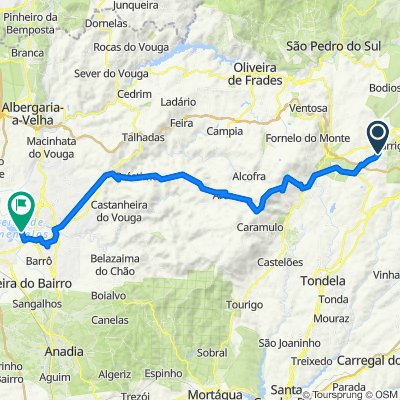 Route to Rua Cavadas 174