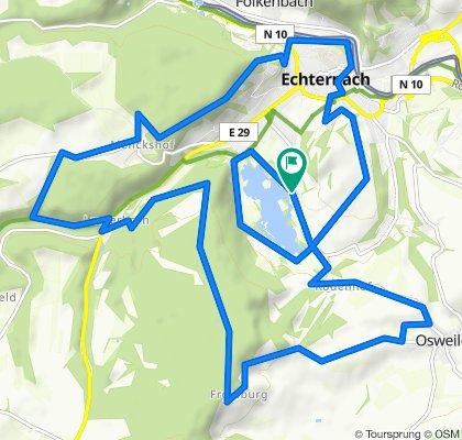Pistes_VTT : Echternach