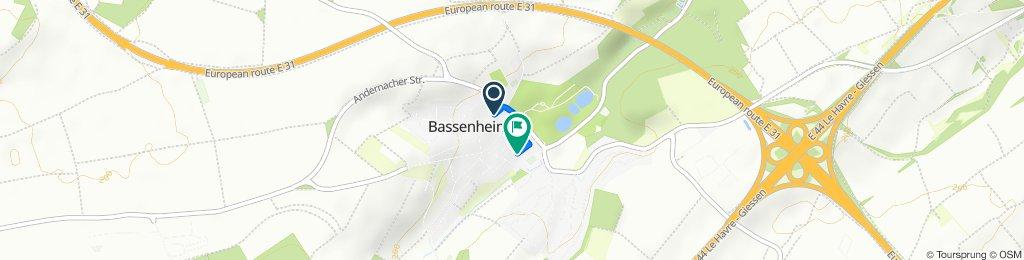 Hospitalstraße 24A, Bassenheim nach Jahnstraße 18C, Bassenheim