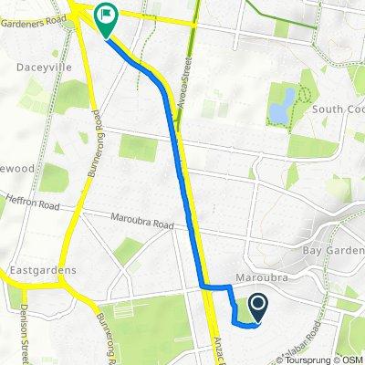 De 31 Midway Drive, Maroubra à 435-437 ANZAC Parade, Kingsford