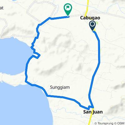 MacArthur Highway, Cabugao to Salomague Port Road, Cabugao