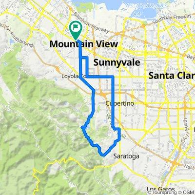 MV to Mt. Eden Loop