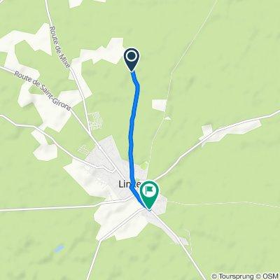 De Chemin de Lugadets, Linxe à 413 Route de la Lande, Linxe