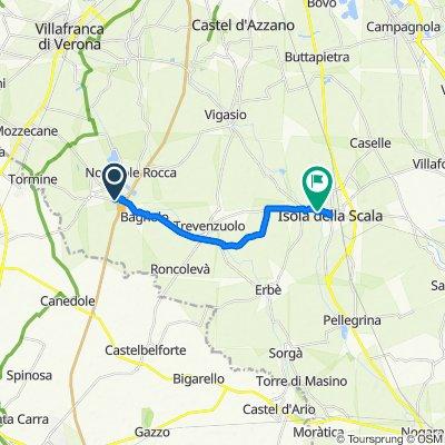 Da SP3, Nogarole Rocca a Via degli Emili 26, Isola della Scala