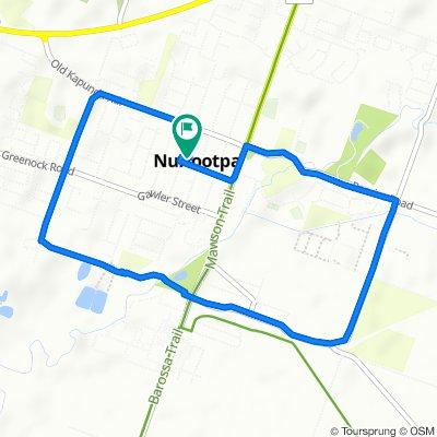 Fourth Street 20, Nuriootpa to Fourth Street 20, Nuriootpa