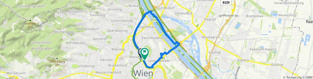 Obere Donaustraße 45B, Wien nach Franz-Hochedlinger-Gasse 24/4, Wien