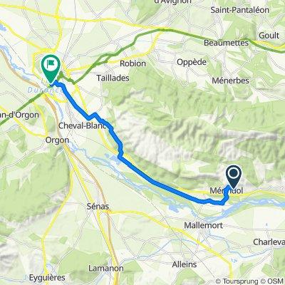 De 299–902 Chemin des Huguenots, Mérindol à 3 Impasse Figon, Cavaillon