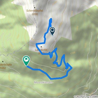 drauburg Berg runter